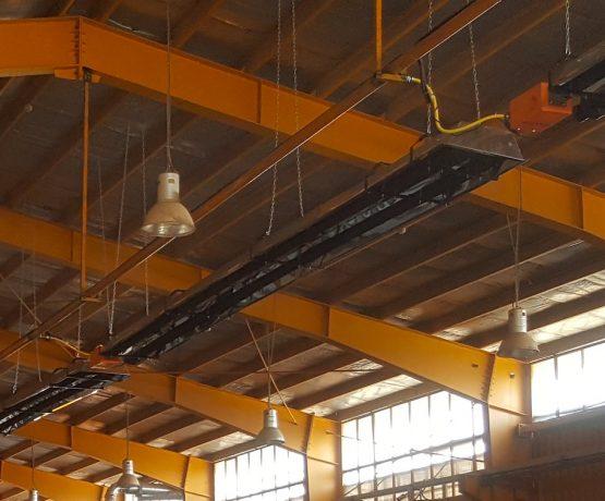 گرمایش سوله صنعتی