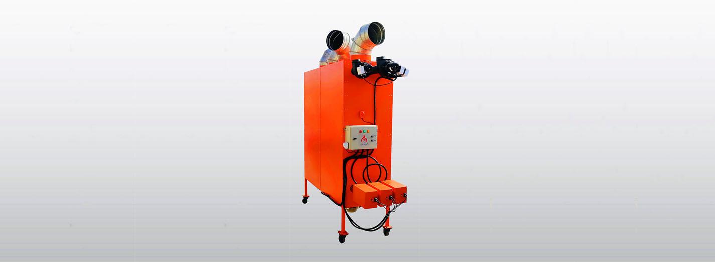 دستگاه مولد هوای گرم فایرتیوب
